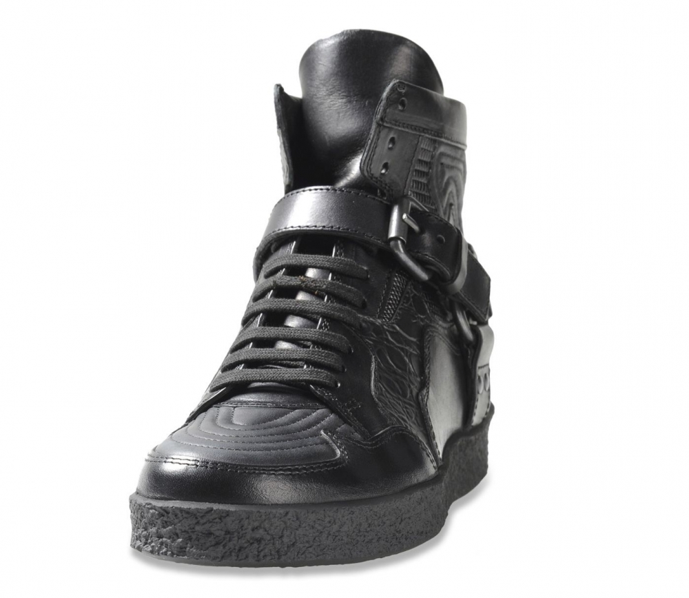 diesel black gold damen high top sneaker. Black Bedroom Furniture Sets. Home Design Ideas
